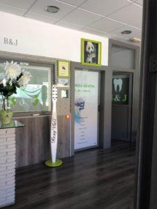 recepcion Clinica Dental B&J